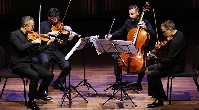 Amsterdam Yaylı Çalgılar Dörtlüsü Bienali, Borusan Quartet'i ağırladı