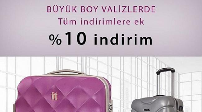 Cantamall valiz kampanyası ile hayalinizdeki valize kavuşun