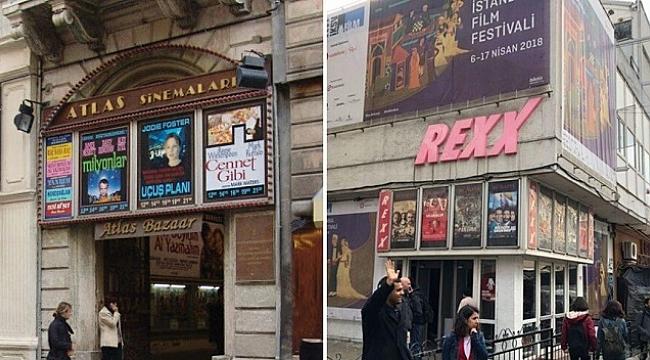 Beyoğlu Atlas Sineması ve Kadıköy Rexx Sineması artık yok!