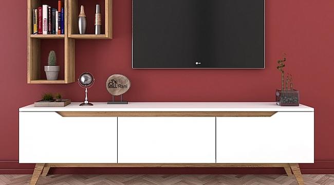 Her zevke uygun TV ünitesi modelleri ile evinizde dilediğiniz tarzda bir ortam yaratabilirsiniz