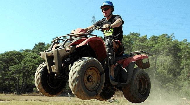 Yaz tatilinde ATV safari keyfi