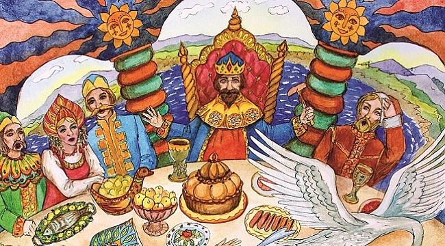 Aleksandr Afanasyev'in derlediği masallar Rus halkının ruhunu yansıtıyor