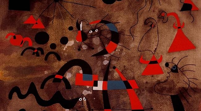 Joan Miró. Kadınlar, Kuşlar, Yıldızlarsergisi online erişime açıldı