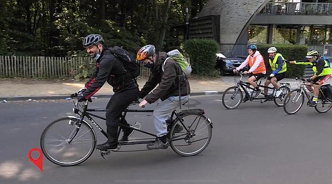 Durmuş'un Rotası Bu sefer Görme Engelliler Bisiklet Turunda!