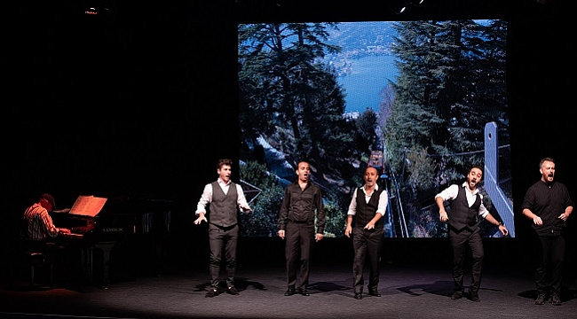 İstanbul Devlet Opera ve Balesi tenorlarından Napoliten Konseri