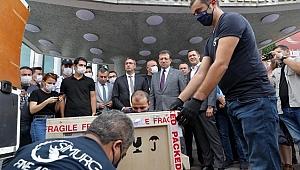 O tablo İstanbul'a getirildi