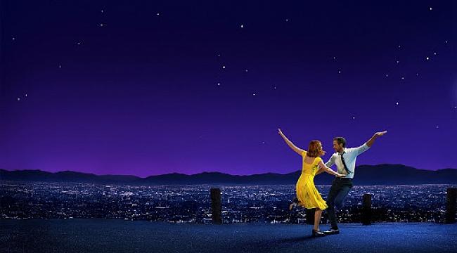 Açık havada La La Land gösterimi