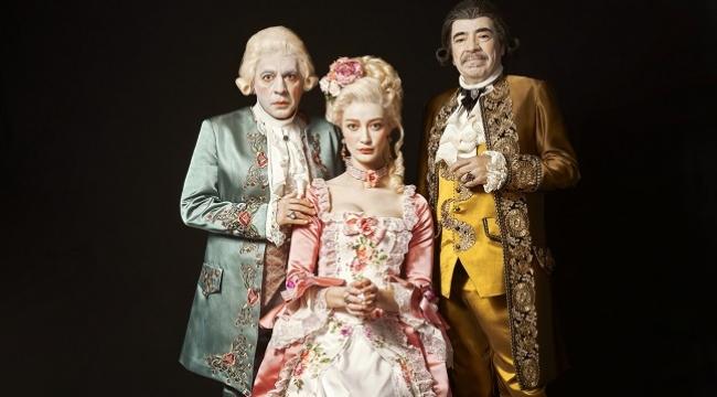 Amadeus oyuncularından seyirciye teşekkür