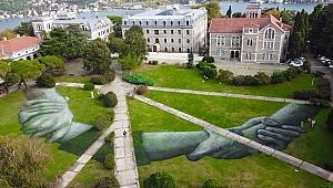 Dünyaca ünlü 'Land Art' sanatçısından İstanbul'da