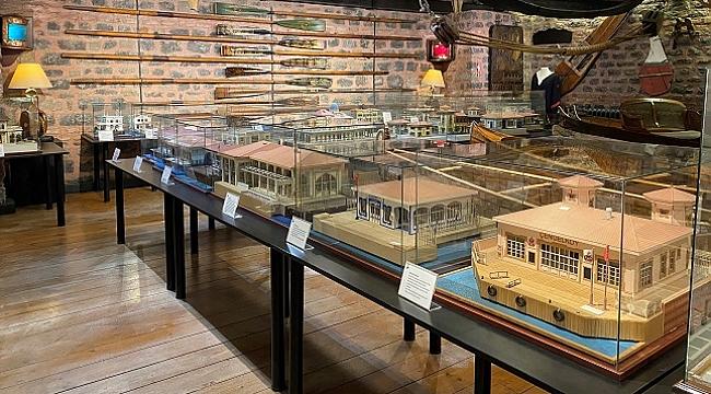 İstanbul'un denize açılan kapısı iskeleler Rahmi M. Koç Müzesi'nde