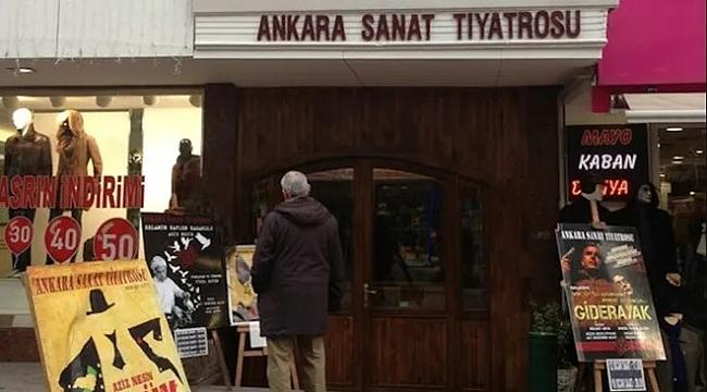Ankara Sanat Tiyatrosu, tarihi salonunu boşaltmak zorunda kaldı