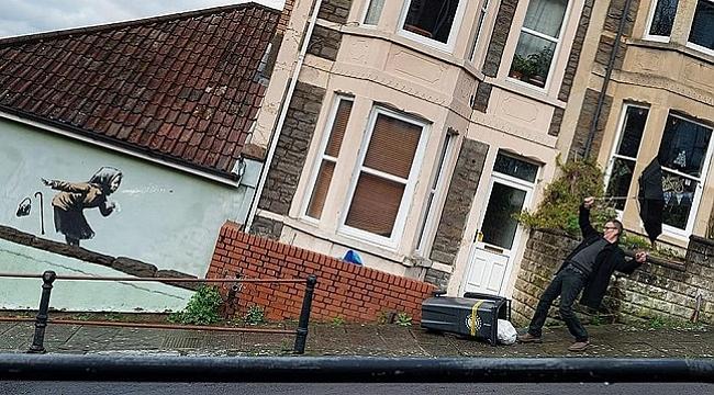 Banksy grafiti çizdi, evin değeri bir gecede 17 kat arttı
