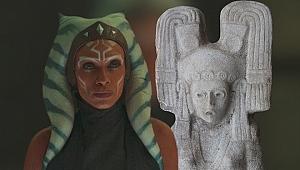 Meksika'da Star Wars savaşçısını andıran kadın heykeli bulundu