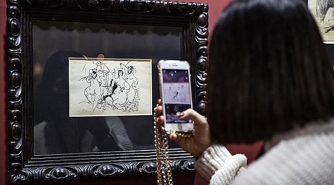 Orijinal Picasso eseri Ankara'da sergileniyor