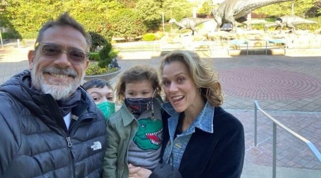 Jeffrey Dean Morgan'ın eşinin ardından oğlu da The Walking Dead'de
