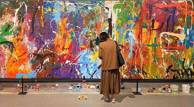 Yarım milyon dolarlık tabloyu 'yanlışlıkla' boyadılar