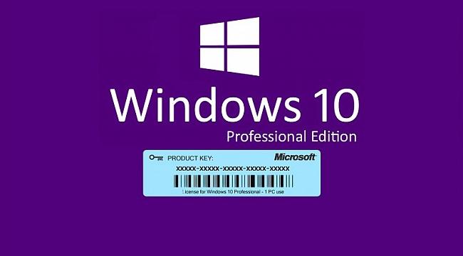Windows 10 Pro lisans hakkında her şey