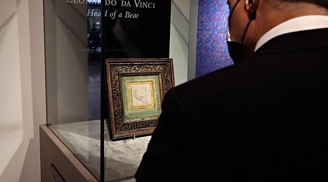 Leonardo da Vinci'nin Head of a Bear adlı çizimi rekor fiyata satıldı