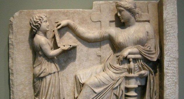 Antik Yunan heykelinde 'laptop' tartışması