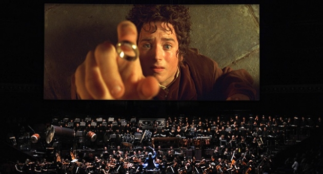Canlı orkestra eşliğinde Yüzüklerin Efendisi