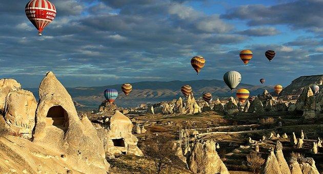 Kapadokya'nın ziyaretçileri yüzde 50 azaldı