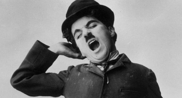 Sessiz sinemanın ölümsüz ismi Charlie Chaplin