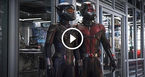 """""""Ant-Man ve Wasp"""" filminden ilk fragman yayınlandı"""
