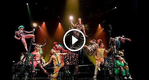 Cirque du Soleil'den mükemmel gösteri: Bazzar