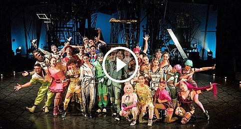 Cirque du Soleil'in ünlü dev çadırı İstanbul'a geldi