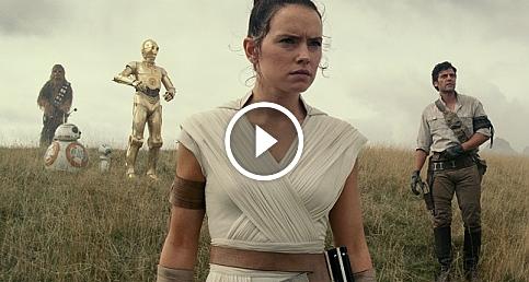 Star Wars: Skywalker'ın Yükselişi filminden özel video