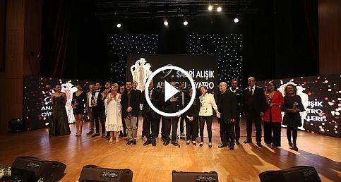 9. Sadri Alışık Anadolu Tiyatro Oyuncu Ödülleri sahiplerini buldu