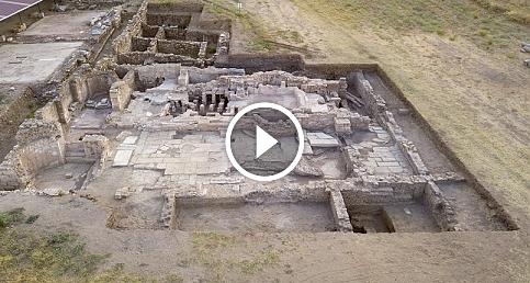 Metropolis Antik Kenti'nde yeni bir yapı keşfedildi