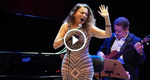 Roberta Gambarini'den Cemal Reşit Rey'de yılbaşı konseri