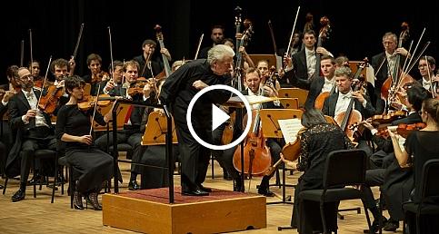 Strazburg Filarmoni Orkestrası CRR'de müzikseverleri büyüledi