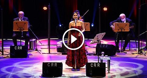 Şevval Sam CRR'de Müzeyyen Senar şarkılarını seslendirdi