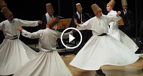 Cemal Reşit Rey Konser Salonu'nda Şeb-i Arus Töreni