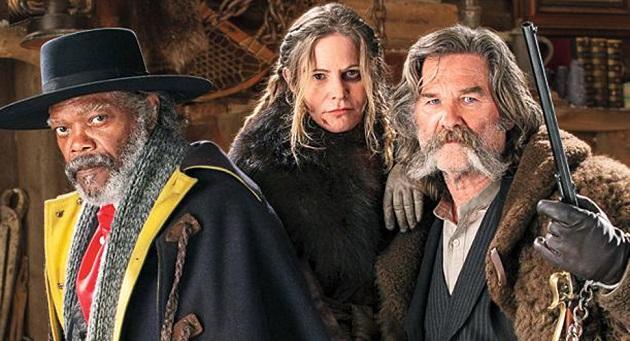 Tarantino'nun yeni filmi The Hateful Eight'ten yeni fragman